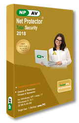 Net Protector 2018 Total PC Protection : Antivirus + Total Internet Security